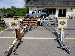 1965 Tee Nee Model 1600-D Boat Trailer
