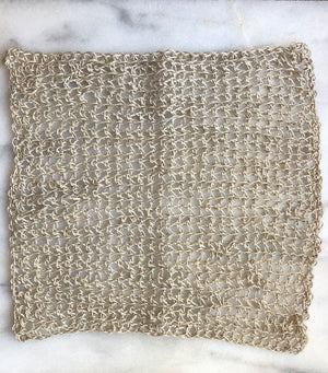 100% Hemp Washcloth