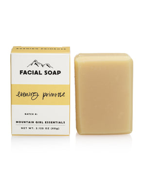 Evening Primrose Facial Soap Bar