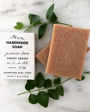 Craft Series Jasmine Lace Soap Bar