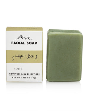 Juniper Berry Facial Soap Bar