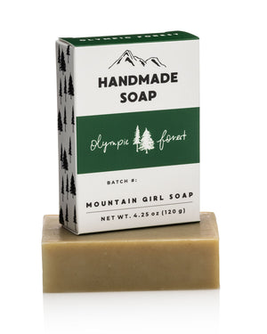 Limited Edition Olympic Forest Soap Bar