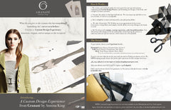 Custom Fashion Design Gift Experience