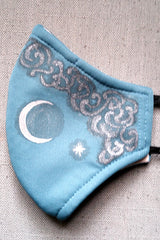 Twilight Clouds Mask, Adult Size