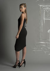Tendril Beaded Strap Layering Dress
