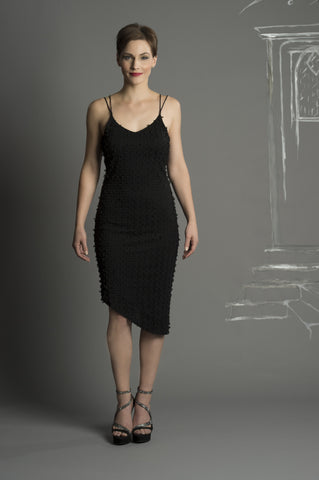 Renn Borealis Jacquard Dress with open back. More Colours.