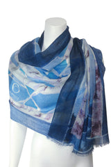 Stained Glass Birches Scarf : 4Colourways