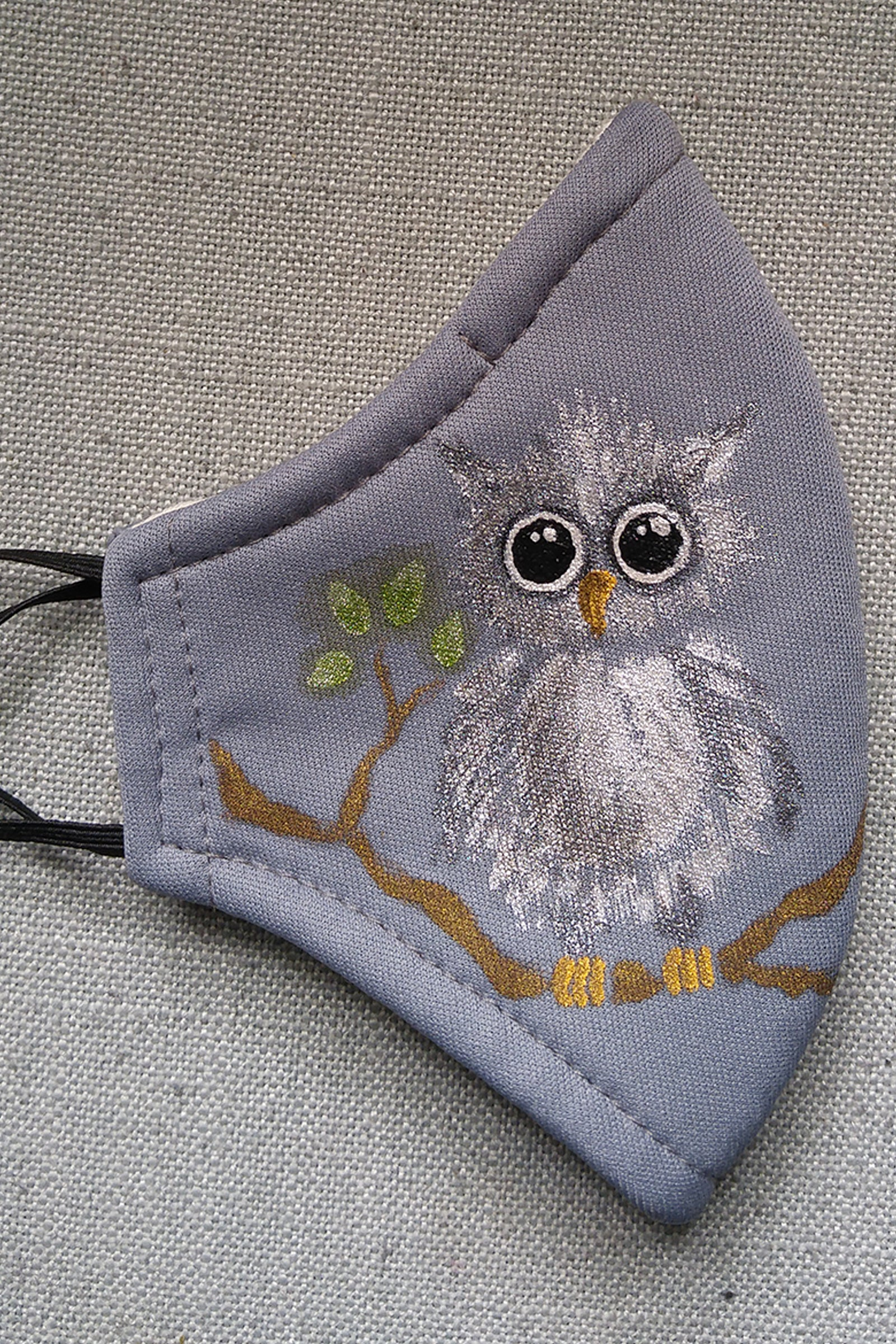 KID SIZE Little Owl, Big Eyes Mask