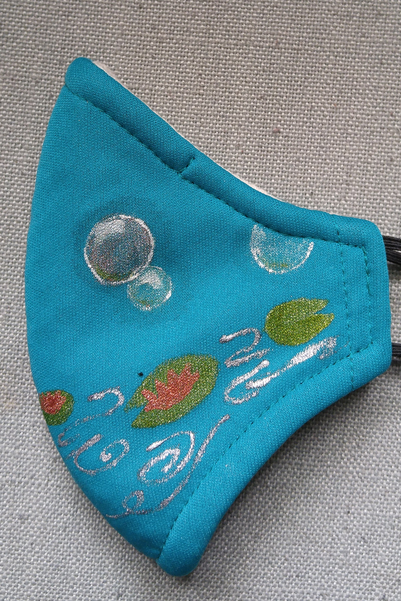 KID SIZE Bubbles and Lilly Pads Mask