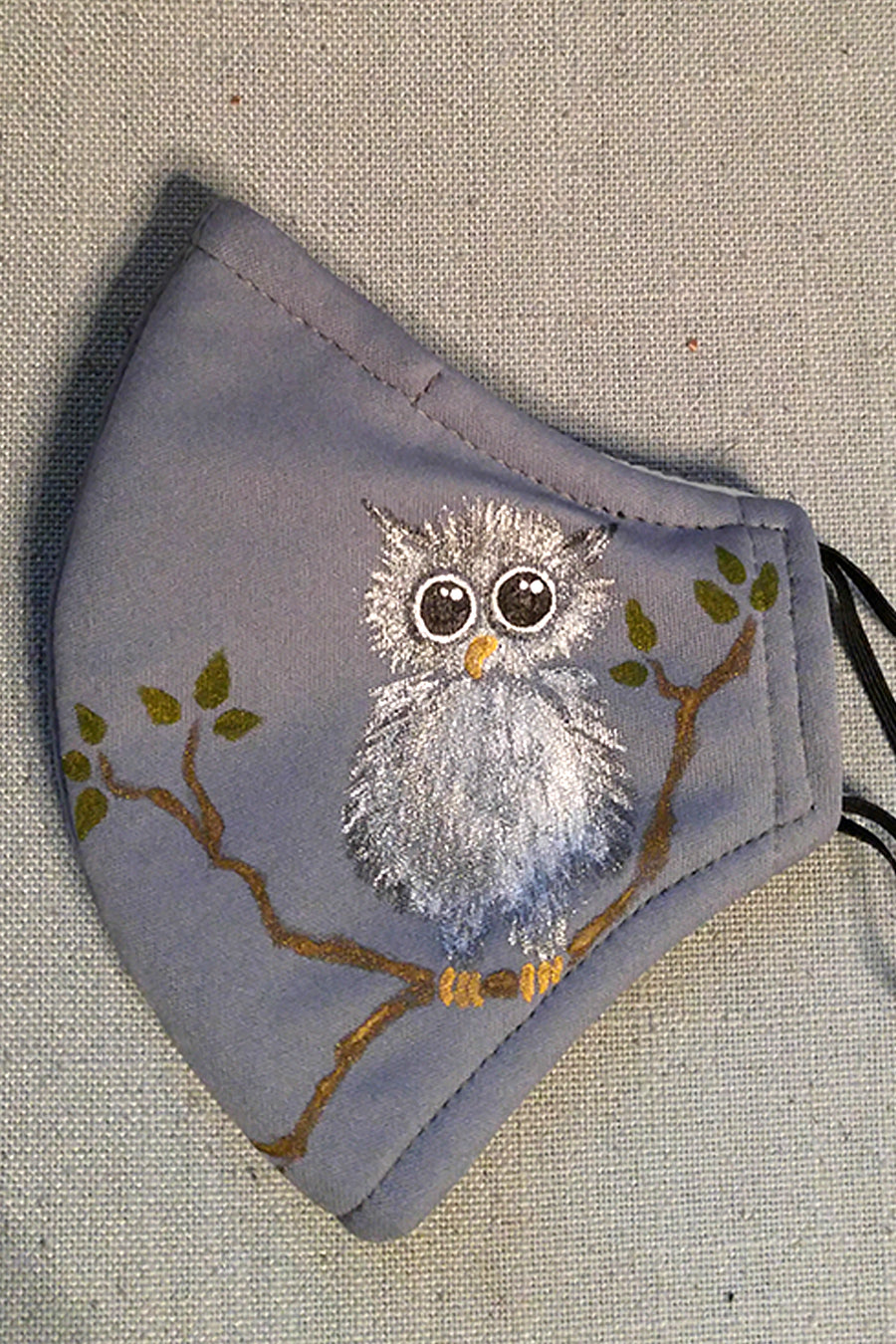 Big Eyes Owl Adult Size Artist Mask Donation