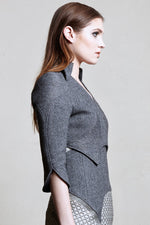 Ygg Crop Jacket, Wool Version