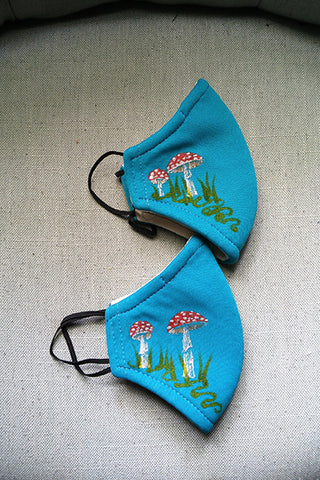 KID SIZE Toadstool Mask