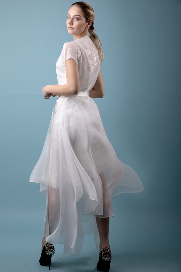 Bal Masqué Dress in Silk Organza. More colours.