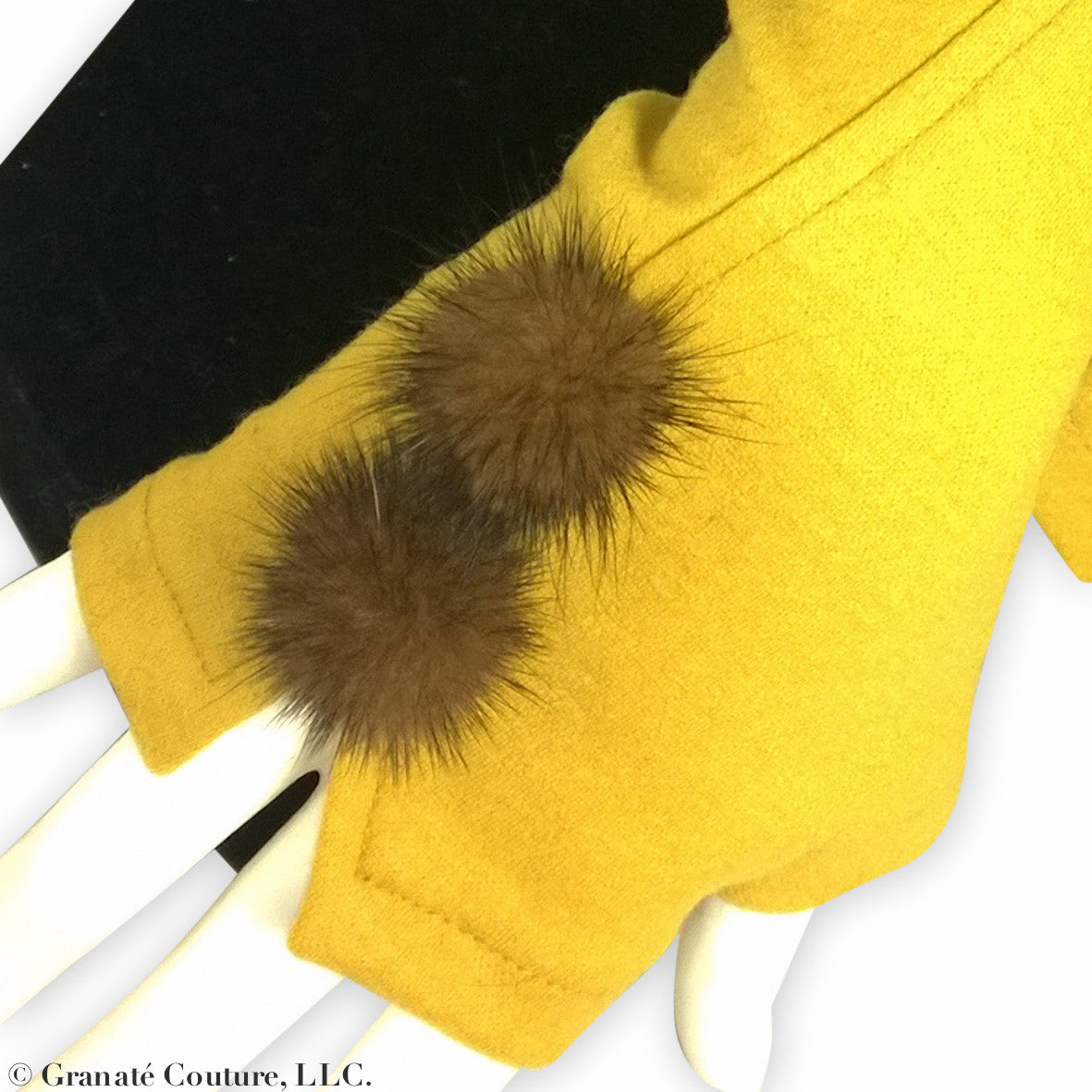 MINK FUR Gloves.  more colours