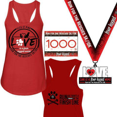 2018 Pre-Order Run for the Rescues Run Pack Tank Top Pack