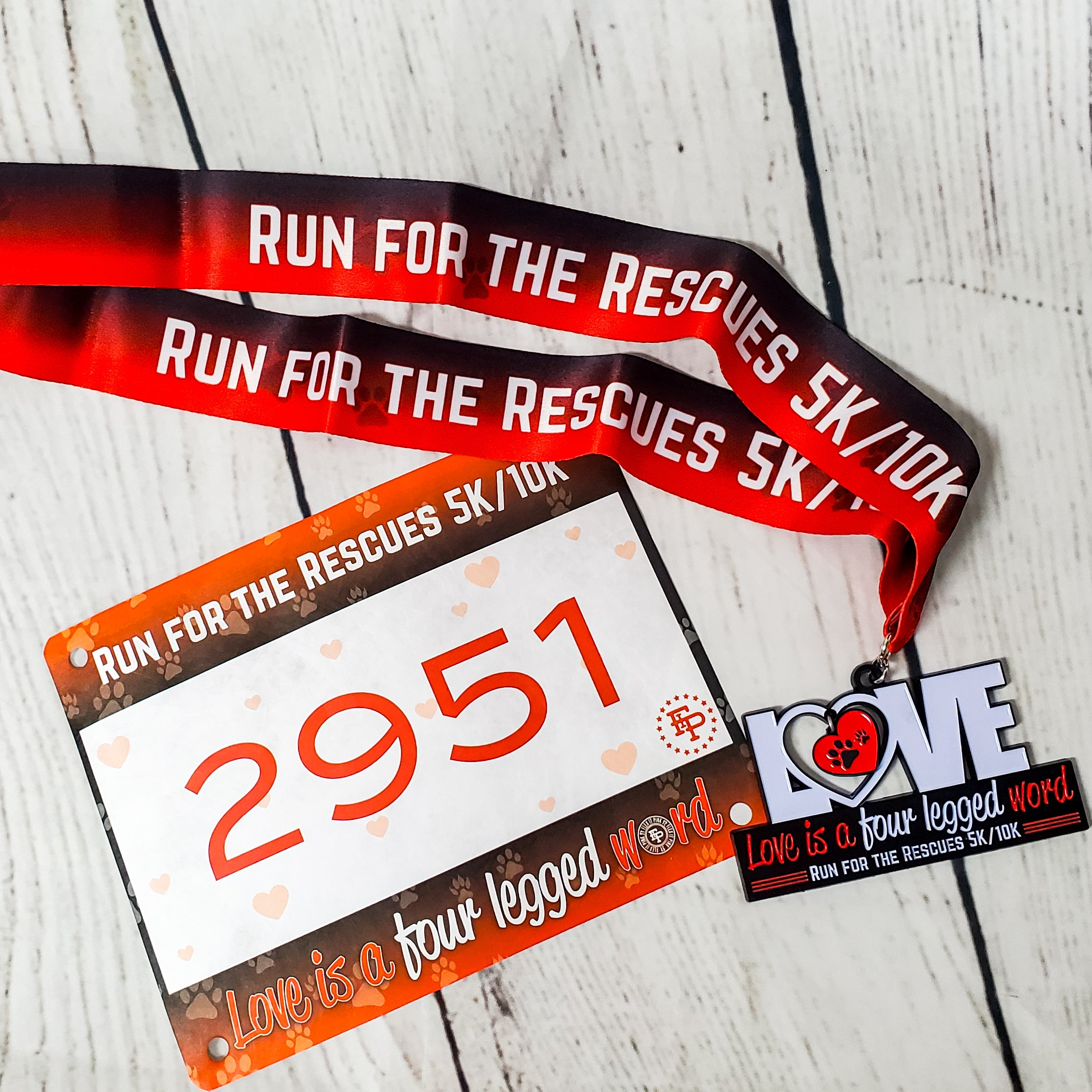 Run for the Rescues MEDAL ONLY Pack