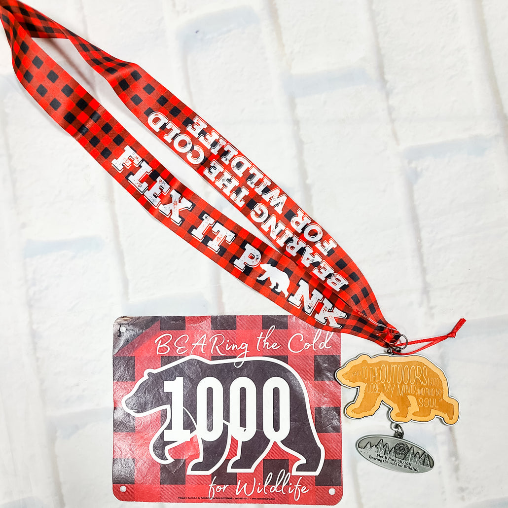 BEARing the Cold for WILDLIFE 5K/10K MEDAL ONLY PACK