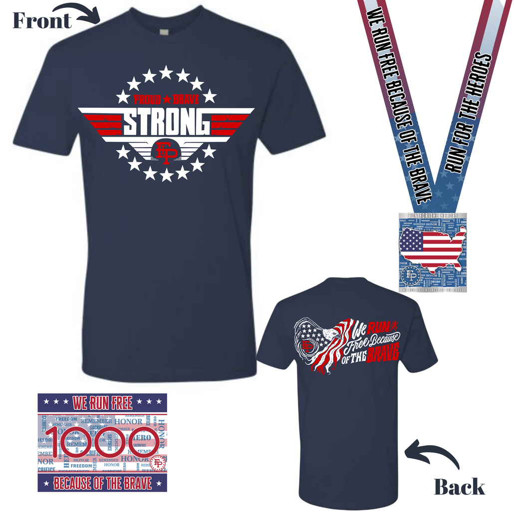 2021 Run for the Heroes Tee Pack *Pre-Order*