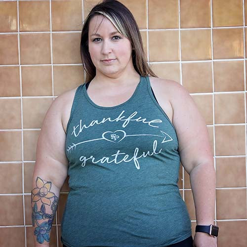 Thankful Grateful Tank Top
