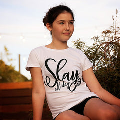 Slay All Day Youth Tee