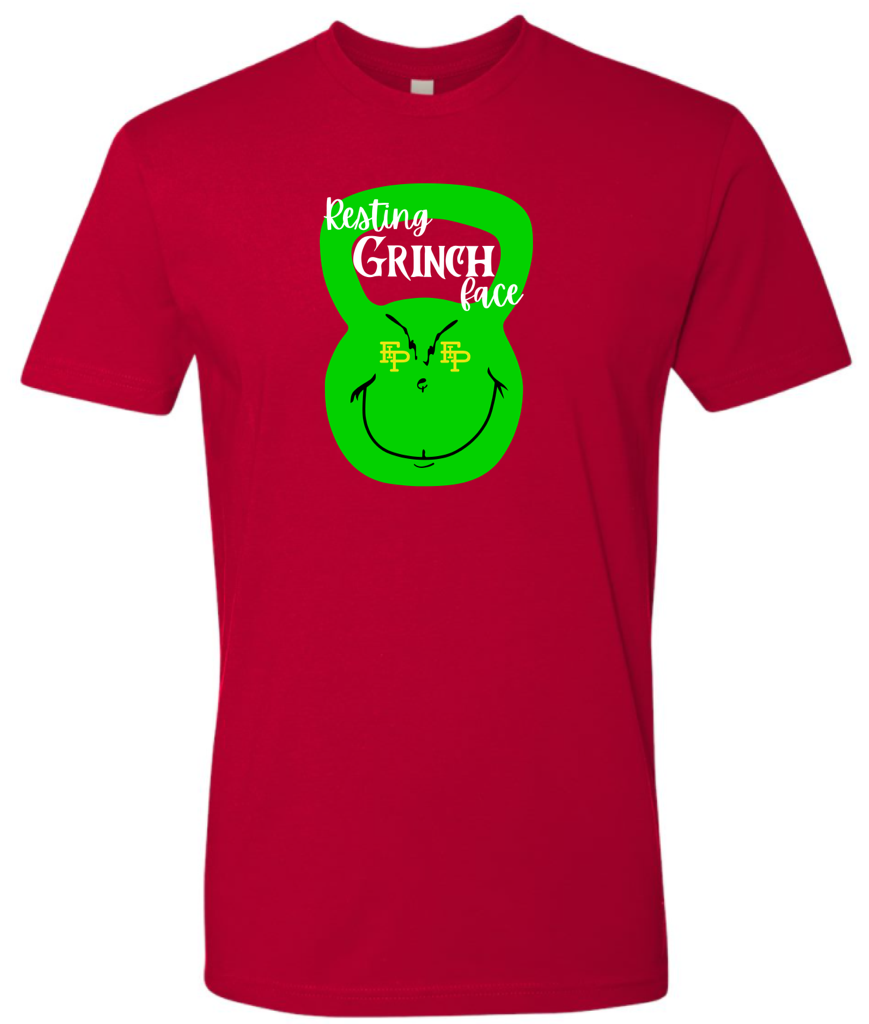 Grinch Face Unisex Holiday Tee