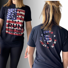 2020 Run For The Heroes 5K/10K T-Shirt ONLY
