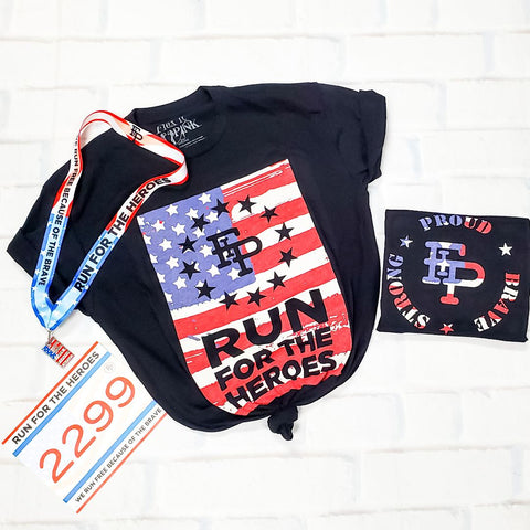 2020 Run For The Heroes 5K/10K Tee Pack