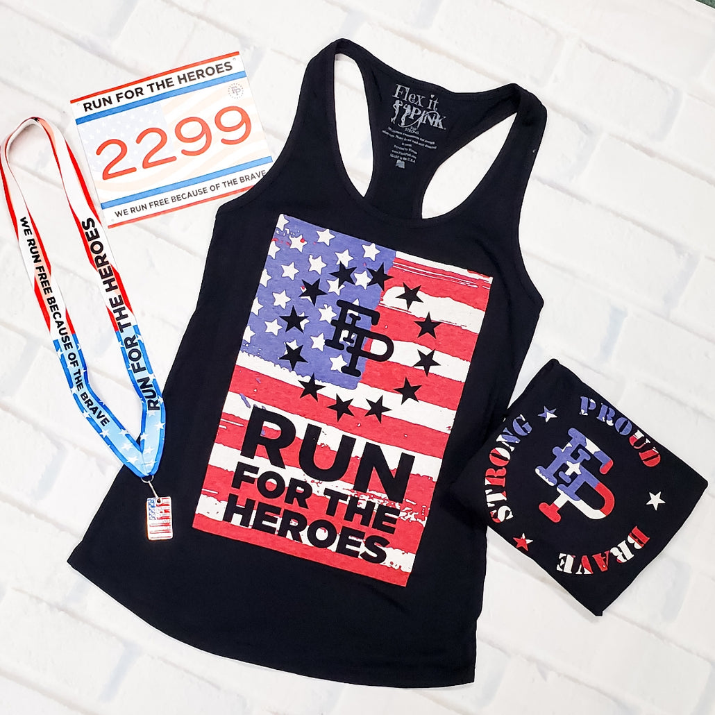 2020 Run For The Heroes 5K/10K Tank Top Pack