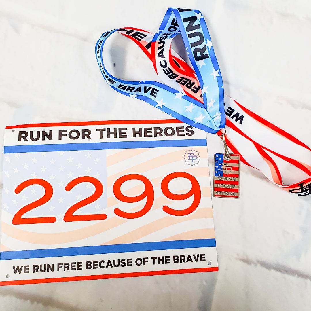 Run For The Heroes 5K/10K MEDAL PACK