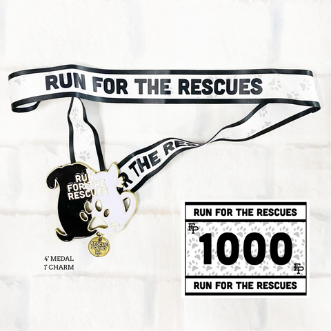 2021 Run for the Rescues MEDAL ONLY pack