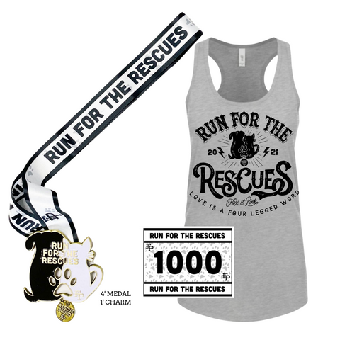 2021 Run for the Rescues Tank Pack