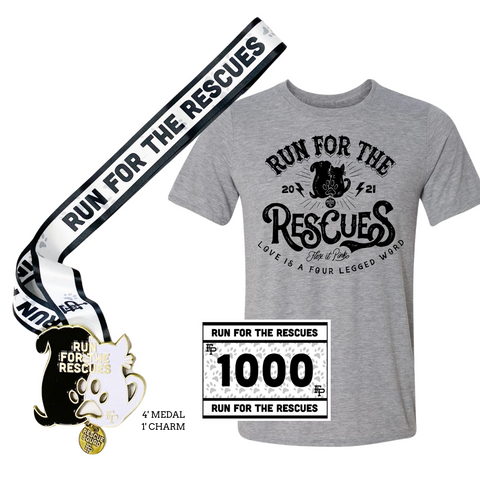 2021 Run For The Rescues Tee Pack