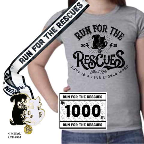 2021 Run For The Rescues YOUTH Pack
