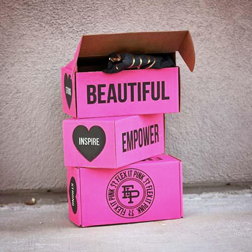 "Flex it Pink Monthly Subscription ""FiP Box"""