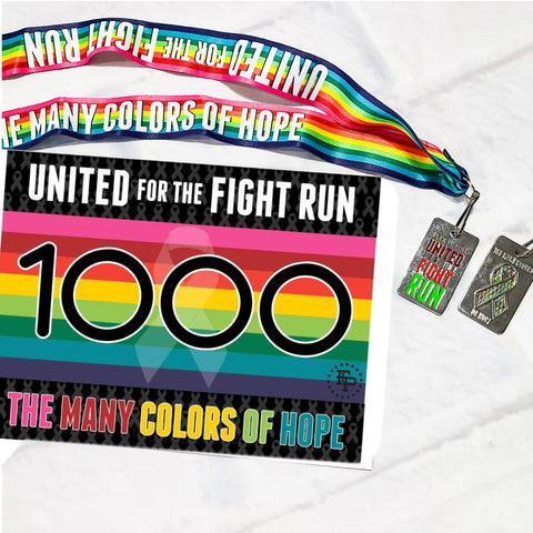 2020 FIP United For The Fight 5K/10K 2020 Series MEDAL ONLY Pack