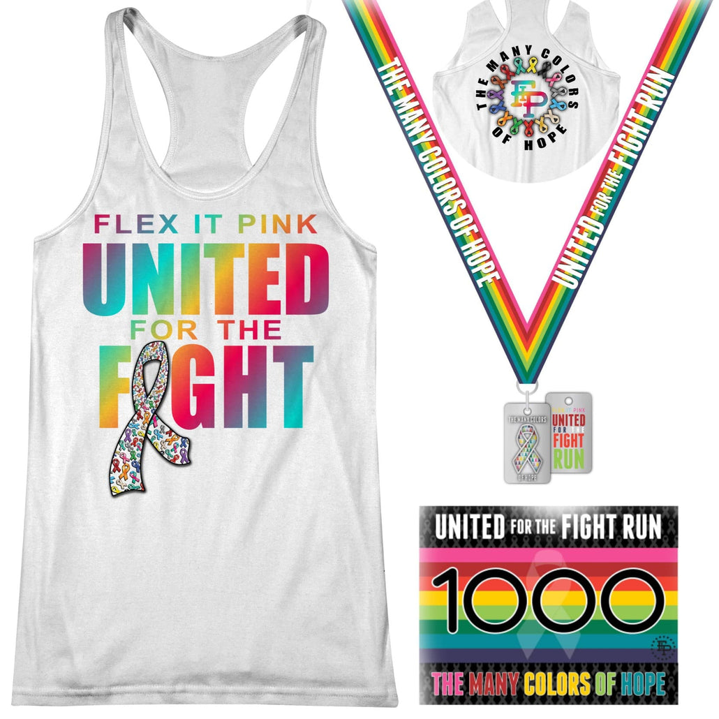 2020 FIP United For the Fight 5K/10K Tank Pack Pre Order