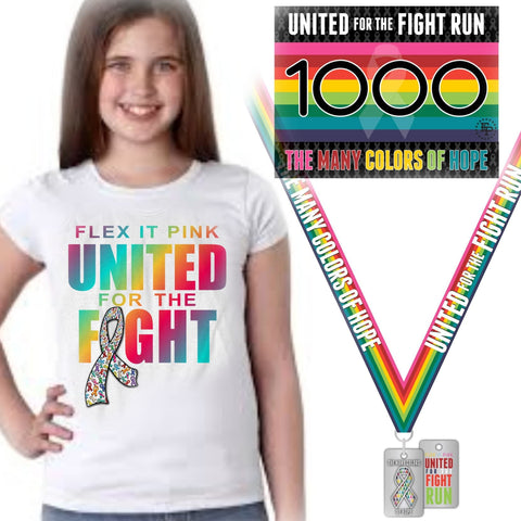 2020 United For The Fight 5K/10K YOUTH TEE Pack