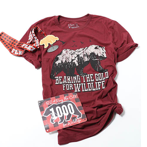 BEARing the Cold for WILDLIFE Unisex-Tee Pack