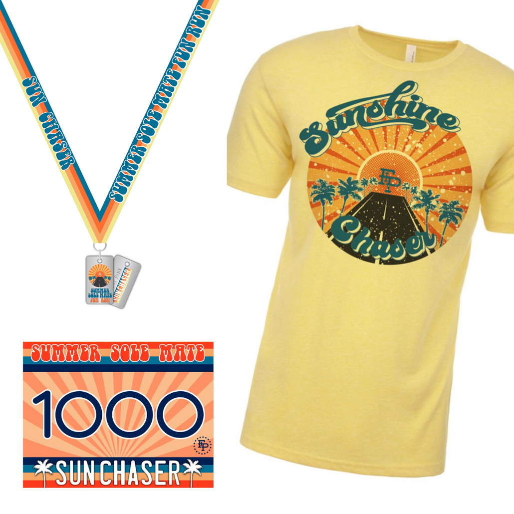2020 Summer SoleMate Fun Run 5K/10K Unisex TEE Pack *Pre Order
