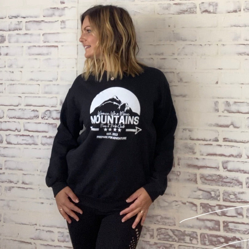 Move Mountains Crewneck