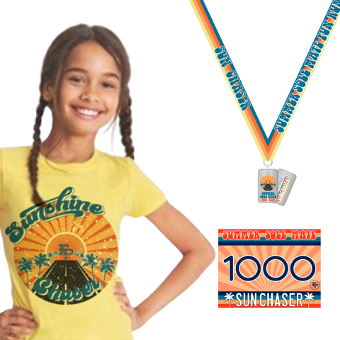 2020 Summer SoleMate Fun Run 5K/10K YOUTH TEE Pack