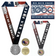 FIP Run for the Heroes Virtual 5K/10K MEDAL ONLY PACK