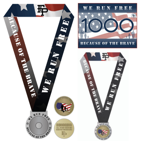 2019 FIP Run for the Heroes 5K/10K MEDAL ONLY PACK