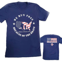 Run for the Heroes 5K/10K Unisex Tee Only **NO MEDAL**