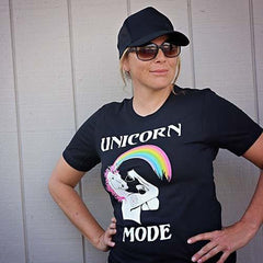 Unicorn Mode Unisex Tee