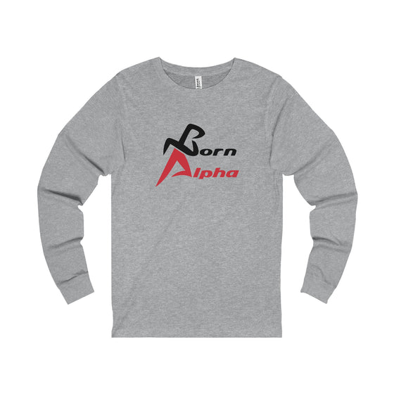 Born Alpha Signature Long Sleeve Tee