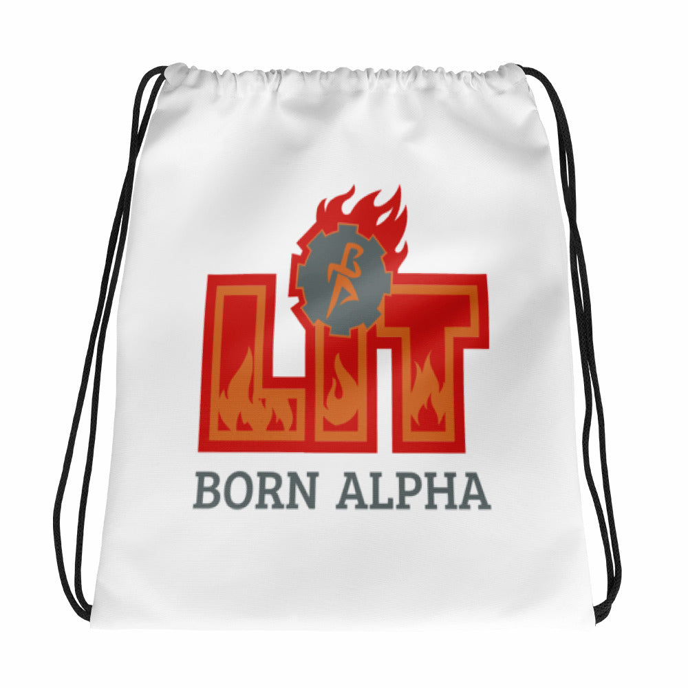 Born Alpha LIT Drawstring Backpack