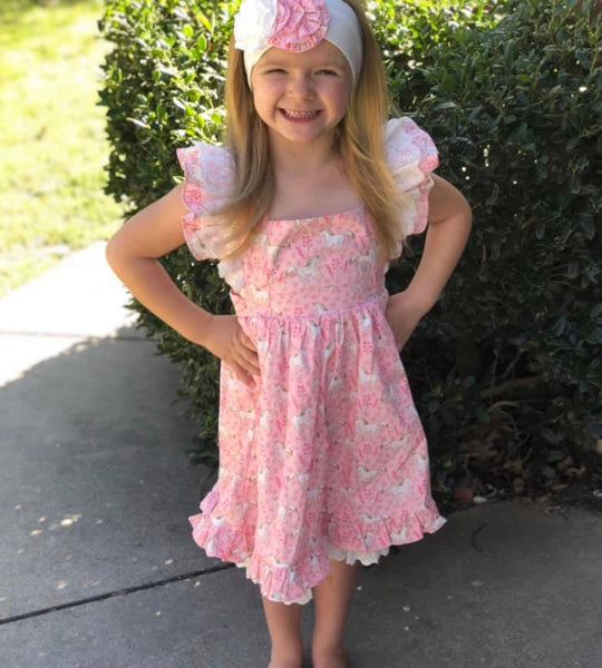 Serendipity Unicorn prim eyelet dress