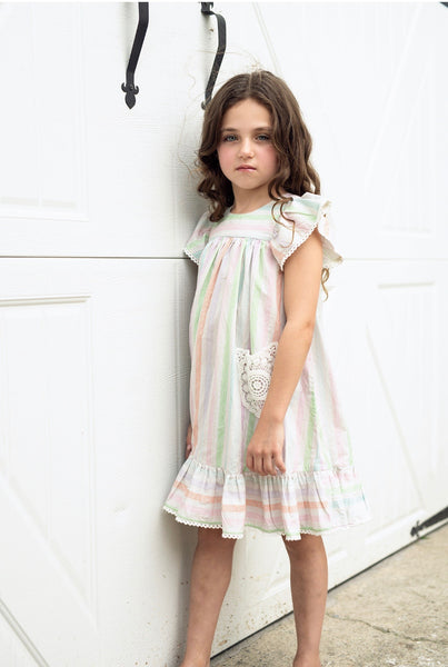 Multi stripe Ryan Dress
