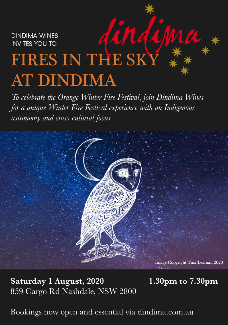 Fires in the Sky at Dindima, 1 August 2020